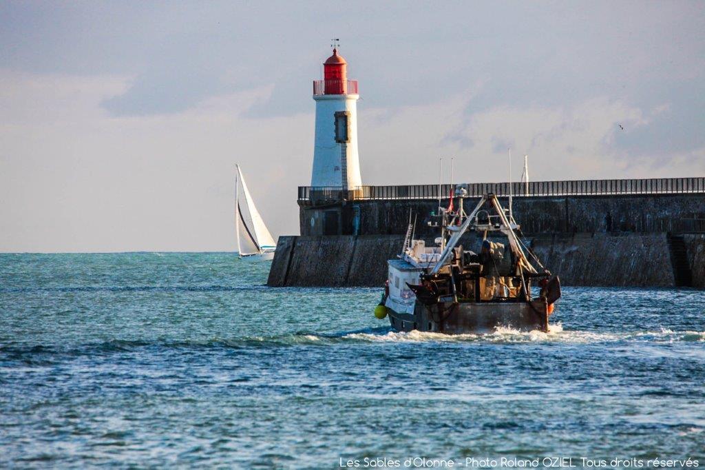 sortie du port de pêche